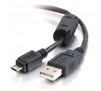 Дата кабель USB 2.0 AM to Micro 5P 0.8m Atcom (9174)