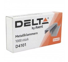 Скобы для степлера №10/5, up to 20 sheets, 1000 шт Delta by Axent (D4101)