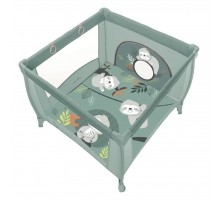Детский манеж Baby Design Design Play Up 2020 04 Green (202315)
