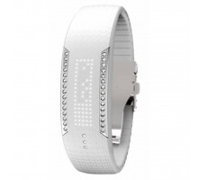 Фитнес браслет Polar Loop Crystal Swarovski White (90057756)
