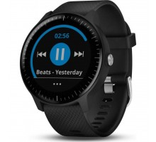Смарт-часы Garmin Vivoactive 3 Music Black with Stainless Hardware (010-01985-02)
