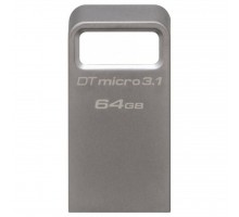 USB флеш накопитель Kingston 64GB DataTraveler Micro USB 3.1 (DTMC3/64GB)