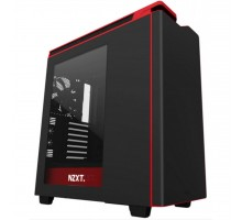 Корпус NZXT H440 Black/Red Window (CA-H442W-M1)