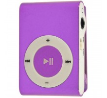 mp3 плеер TOTO Without display&Earphone Mp3 Purple (TPS-03-Purple)