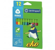 Фломастеры Centropen 2560 EKO (with food dyes) 12 colors (2560/12)