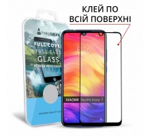 Стекло защитное MakeFuture для Xiaomi Redmi Note 7 Black Full Cover Full Glue (MGFCFG-XRN7)