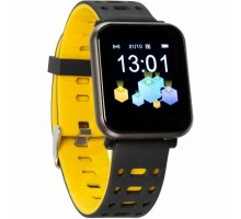 Смарт-часы Gelius Pro GP-CP11 Plus (AMAZWATCH 2020) (IP68) Black/Yellow (Pro GP-CP11 Plus Black/Yellow)