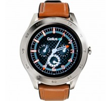 Смарт-часы Gelius Pro GP-L3 (URBAN WAVE 2020) (IP68) Silver/Brown (Pro GP-L3 (URBAN WAVE 2020) Brown)
