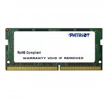 Модуль памяти для ноутбука DDR4 4GB 2400 MHz Patriot (PSD44G240082S)