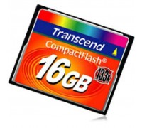 Карта памяти Transcend 16Gb Compact Flash 133x (TS16GCF133)