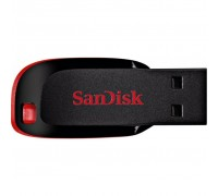 USB флеш накопитель SANDISK 64GB Cruzer Blade Black/red USB 2.0 (SDCZ50-064G-B35)