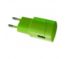 Зарядное устройство Florence USB, 1.0A lime green color (FW-1U010L)