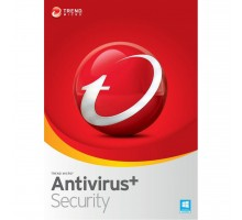 Антивирус Trend Micro AntiVirus+ 2018 3 Users, 2Year, Multi Language, License, New (TI10972643)