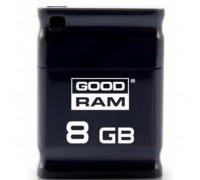USB флеш накопитель GOODRAM 8GB Piccolo Black USB 2.0 (UPI2-0080K0R11)