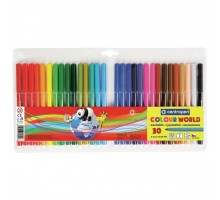 Фломастеры Centropen 7550/30 COLOUR WORLD, 30 colors (7550/30 ТП)