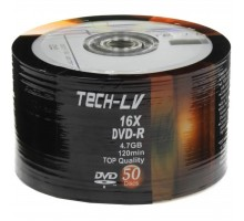 Диск DVD RIDATA 4,7Gb 16x Bulk 50 pcs, TECH-LV DVD-R (907WEDRSAY005)