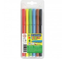 Фломастеры Centropen 7790/06 Washable, 06 colors (7790/06 ТП)