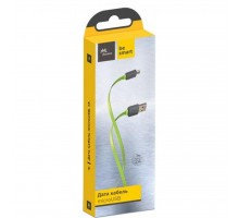 Дата кабель Florence microUSB 2A Color Lime green 1m (FDC-M1-2L)