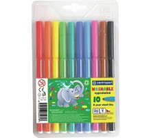 Фломастеры Centropen 7790/10 Washable, 10 colors (7790/10 ТП)