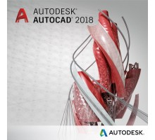 ПО для 3D (САПР) Autodesk AutoCAD 2018 Commercial New Single-user ELD Quarterly Subscr (001J1-WW1518-T316)