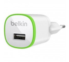 Зарядное устройство Belkin USB HomeCharger (1*USB, 1A) (F8J013vfWHT)