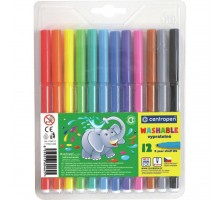 Фломастеры Centropen 7790/12 Washable, 12 colors (7790/12 ТП)