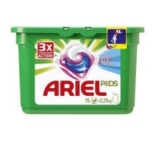 Капсулы для стирки Ariel Pods Touch of Lenor 15 шт (4015600949860)