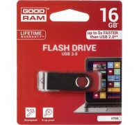 USB флеш накопитель GOODRAM 16GB Twister Red USB 3.0 (UTS3-0160R0R11)