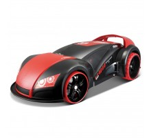 Автомобиль Maisto трансформер Street Troopers Project 66 (81107 black/red)