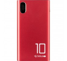Батарея универсальная Gelius Pro CoolMini GP-PB10-005 10 000 mAh 2.1A Red (72160)