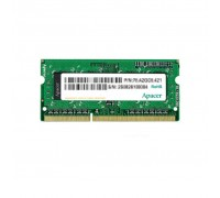 Модуль памяти для ноутбука SoDIMM DDR3 8GB 1600 MHz Apacer (AS08GFA60CATBGC)