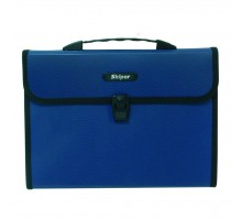 Папка - портфель Skiper FB, 2 compartments, KLFB-02H, blue (410970)