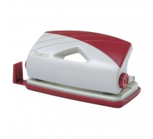 Дырокол Axent Duoton plastic, 10sheets, gray-red (3710-06-А)