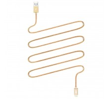 Дата кабель JUST Copper Lightning USB Cable 0,5M Gold (LGTNG-CPR05-GLD)