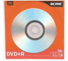 Диск DVD ACME 4.7Gb 16x Paper sleeve 1шт (4770070855898 поштучно)
