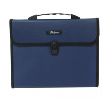 Папка - портфель Skiper А4, 12 compartments, KLA4-12H, blue (410966)
