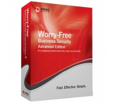 Антивирус Trend Micro Worry-Free Business Security, Advanced 101-250, 1Year, Russi (CM00263103)