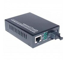 Медиаконвертер Merlion 10/100Base-TX to 100Base-F 1310нм, SM, SC/RJ-45, 25 км (1310_WDM)