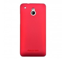 Чехол для моб. телефона Metal-Slim HTC One Mini /Rubber Red (C-H0030MR0004)