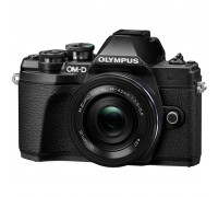 Цифровой фотоаппарат OLYMPUS E-M10 mark III Pancake Zoom 14-42 Kit black/black (V207072BE000)