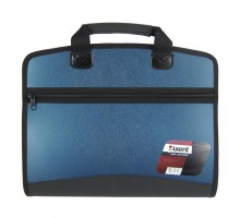 Папка - портфель Axent А4, 4 compartments, blue metallic (1621-12-А)