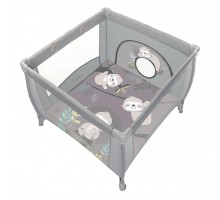 Детский манеж Baby Design Play Up 2020 07 Light Gray (202322)