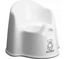 Горшок Baby Bjorn Potty Chair белый (55121)