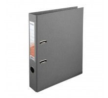 Папка - регистратор Delta by Axent double-sided PP 5 cм, assembled, gray (D1711-03C)