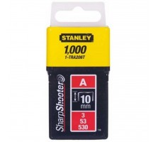 Скобы Stanley Light Duty тип а, 10мм, 1000шт (1-TRA206T)