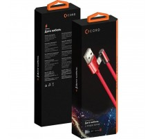 Дата кабель USB 2.0 AM to Micro 5P 1.0m Comfort L-shape Red CORD (CDC-M1-2R)