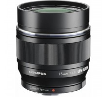 Объектив OLYMPUS ET-M7518 75mm 1:1.8 Black (V311040BE000)