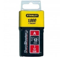 Скобы Stanley Light Duty тип а, 12мм, 1000шт (1-TRA208T)