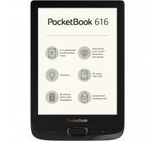 Электронная книга PocketBook 616 Basic Lux2, Obsidian Black (PB616-H-CIS)