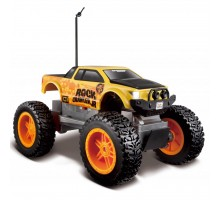 Автомобиль Maisto Rock Crawler Jr.жёлто-чёрный (81162 yellow/black)